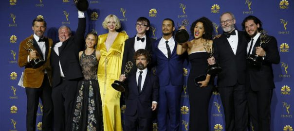 Game of Thrones Emmys kick-ass