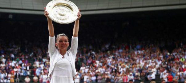 Halep, Williams, win, Wimbledon, title