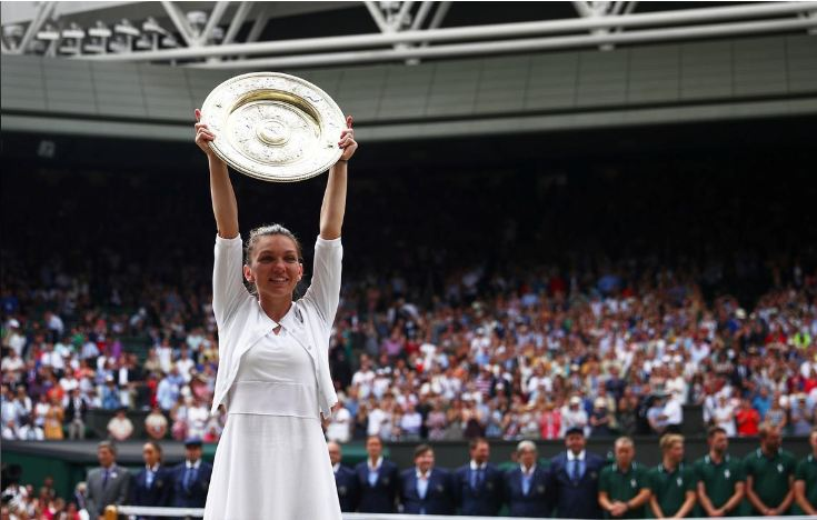 Halep stuns Williams to win Wimbledon title