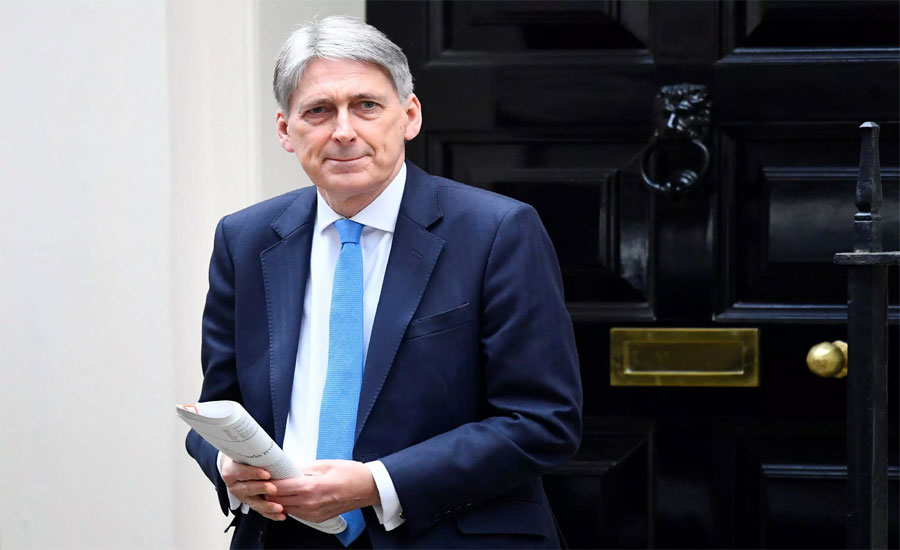 UK finance minister Hammond to resign on Wednesday over no-deal Brexit