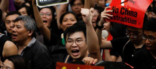 Hong Kong extradition bill mass protest Hong Kong leader