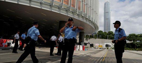Hong kong violence calm protests