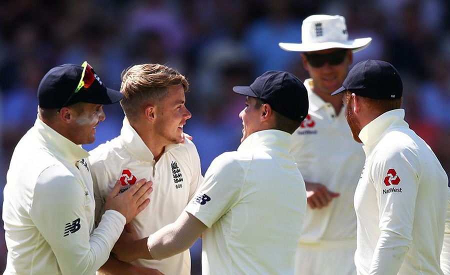 Curran, Leach move up in ICC Men's Test Player Rankings