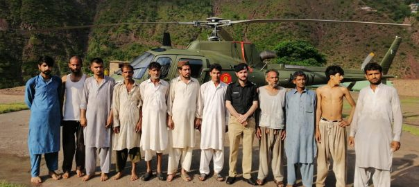 Army, assisting, civil, administration, Neelum, flood-hit, areas, ISPR