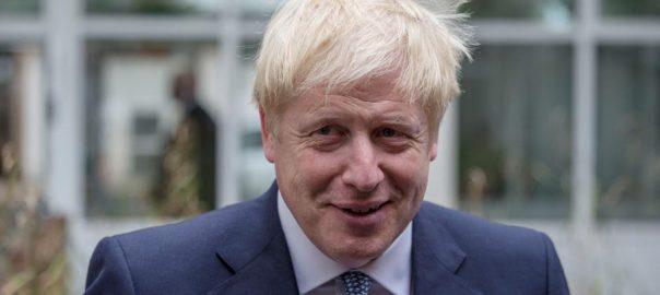 Johnson, Brexit, face, 'horror show', Corbyn