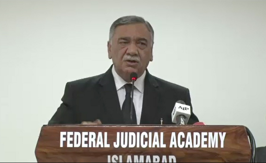 CJP Asif Saeed Khosa for launching a movement to restore lawyers' respect