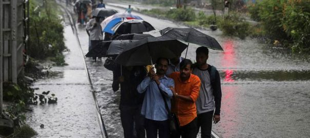Heavy rains rains India financial capital Mumbai