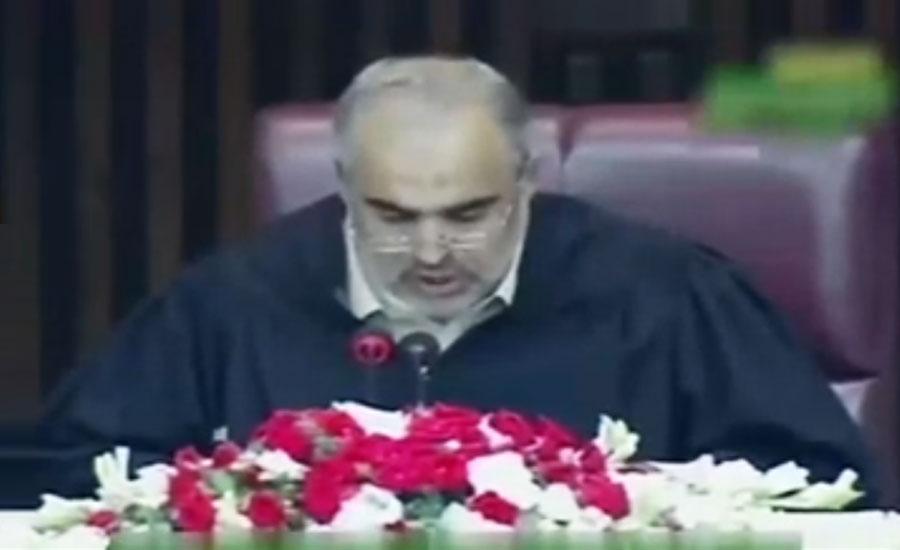 NA speaker Asad Qaiser bans all standing committees meetings