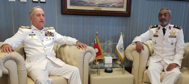 CNS, Admiral, Zafar Abbasi, Commander UAE, Naval Forces, shipbuilding facility