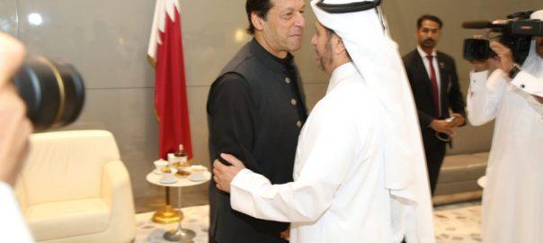 Prime Minister, Imran Khan, reaches, Doha, US visit