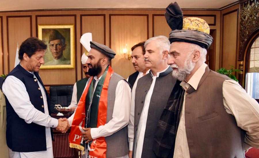 Newly elected MPA from tribal district joins PTI
