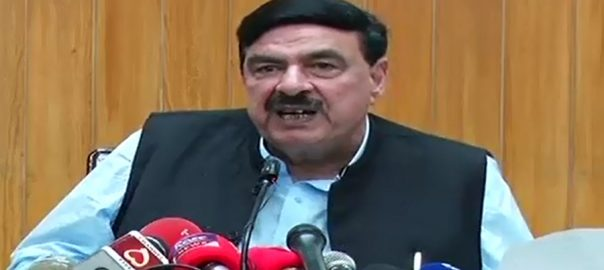 Opposition, meetings, pose, threat, govt, Sheikh Rasheed