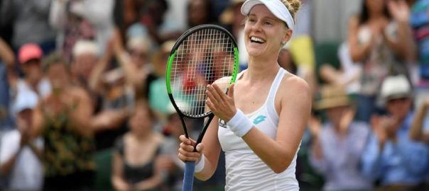 Riske, rewarded, Barty, battle, Wimbledon