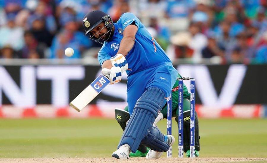 Rohit century powers India to 314-9 against Bangladesh