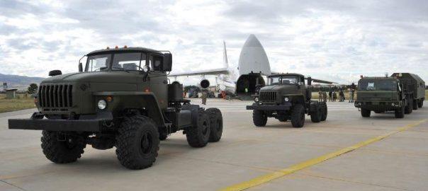 Russia, delivers, air, defence, equipment, Turkey
