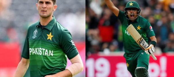 Shaheen Babar Azam five wickets World Cup ICC PCB