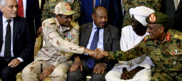 military council Sudan opposiition power-sharing agreement Sudan's military council coalition opposition