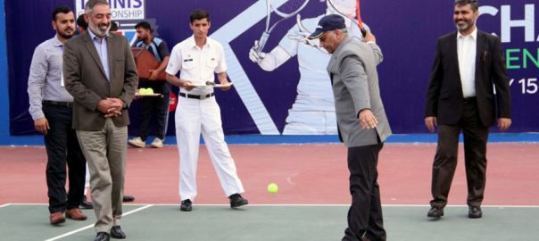 CJCSC, Open, Tennis, Championship, kicks, off, Karachi