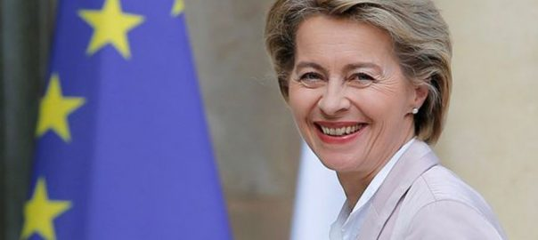 Ursula von der Leyen, EU, Commission, Germany, Defence Minister, woman