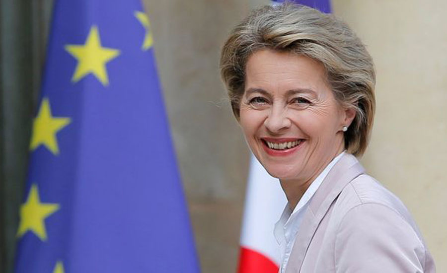 Germany's Defence Minister Ursula nominated as first woman to lead EU Commission