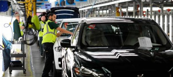 Jaguar Land Rover electric cars UK plant