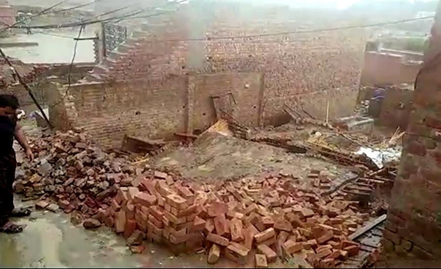 Rain-affected roof collapse leaves seven family members dead in Kot Abdul Malik