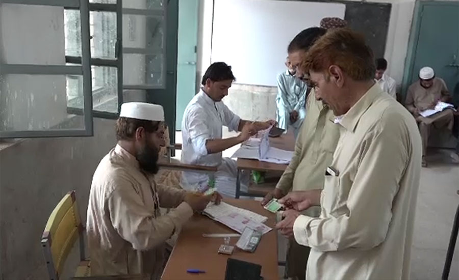 Polling for seven tribal districts of KP continuing amid tight security