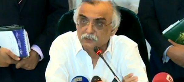 Shabbar Zaidi, Faisalabad, tax