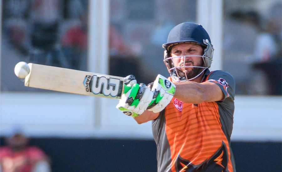 Afridi smashes match-winning 81 in T20 match