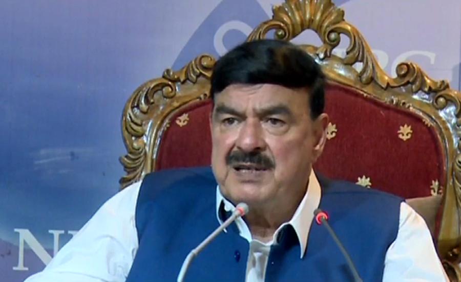 Sheikh Rasheed orders high-level probe in Sadiqabad train accident