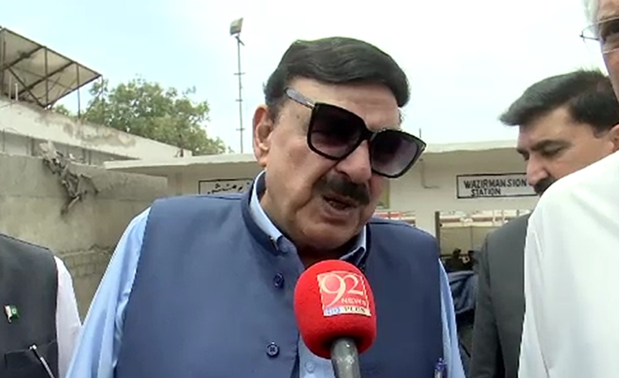 Fazl will also face resistance if he disrupts political system: Rasheed