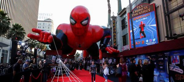 Spider Spider-man debuts Box office