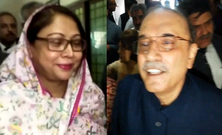 Zardari, Faryal get another 10-day physical remand in fake bank accounts cases