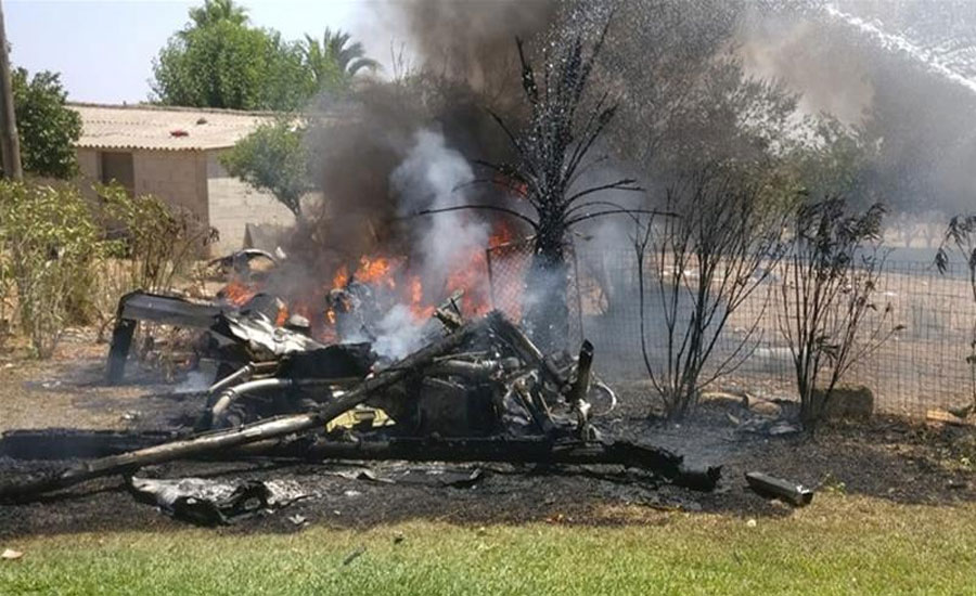 Mallorca island: At least seven killed in copter-plane collision in mid-air