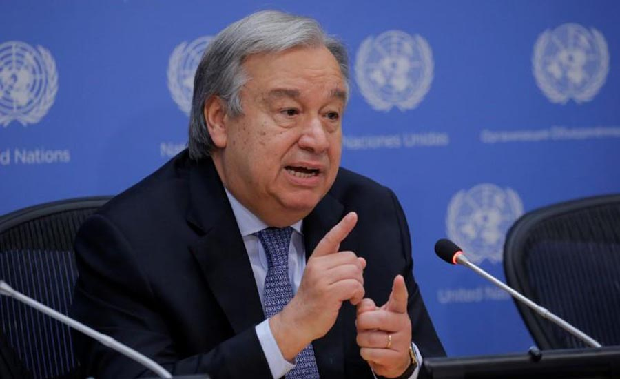 UN secretary general concerned about Indian restrictions in Occupied Kashmir