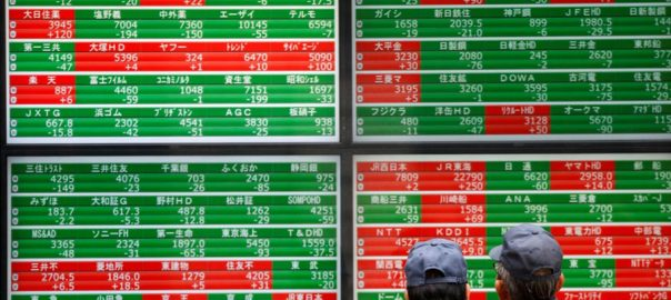 Asian asianb market US market walstreet