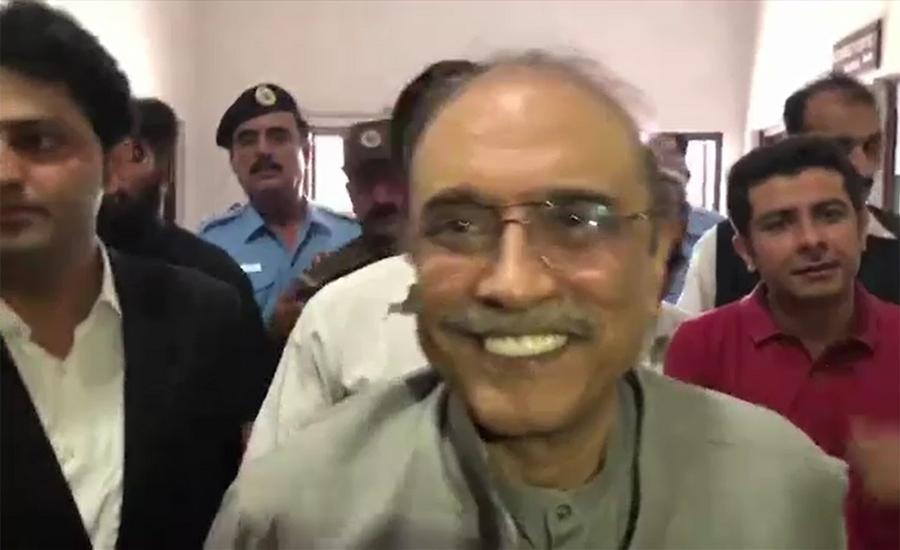 Asif Zardari undergoes various medical tests at PIMS