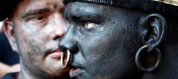 Belgian Belgianfestival savage blackface savage character
