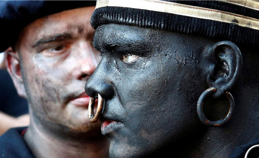 Belgian festival draws criticism over blackface Savage character
