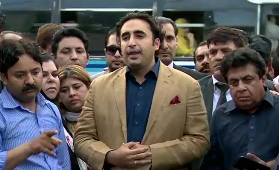 Bilawal Bhutto says conspiracy being hatched to kill Asif Zardari