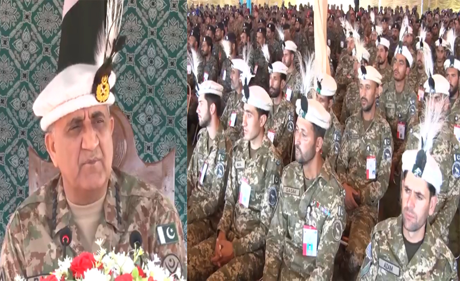 Fully prepared to thwart any aggression from eastern border: COAS Qamar Bajwa