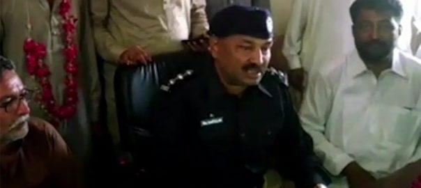 Khanpur DSP, martyred, encounter, dacoits, Shikarpur