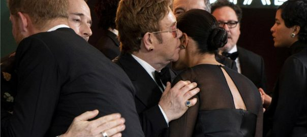 Elton John Harry Meghan Twitter Princess Diana