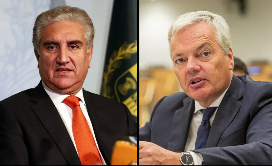 FM Qureshi phones Belgian counterpart to discuss IOK situation