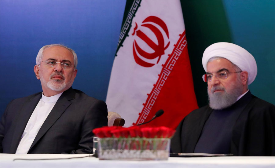 'Childish' of US to sanction Iran foreign minister Zarif: Rouhani