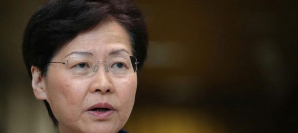 Hong Kong leader Hong Kong peace
