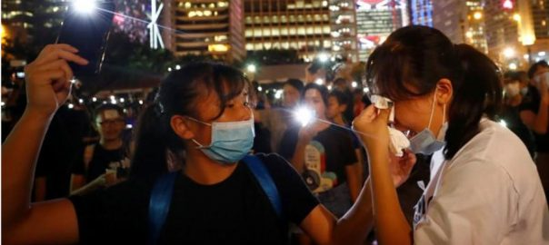 Hong Kong fresh protest activist target airport