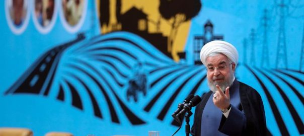 Iran, Rouhani, rules out, talks, US, sanctions, lifted