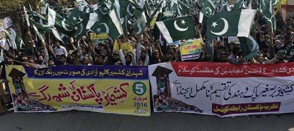 Kashmir-rallies