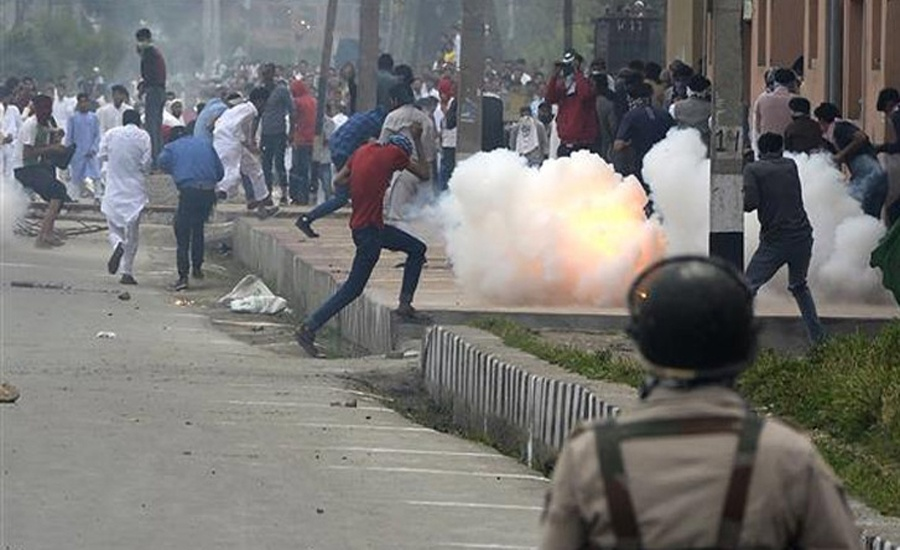 Over 500 political workers detained as curfew continues in Occupied Kashmir